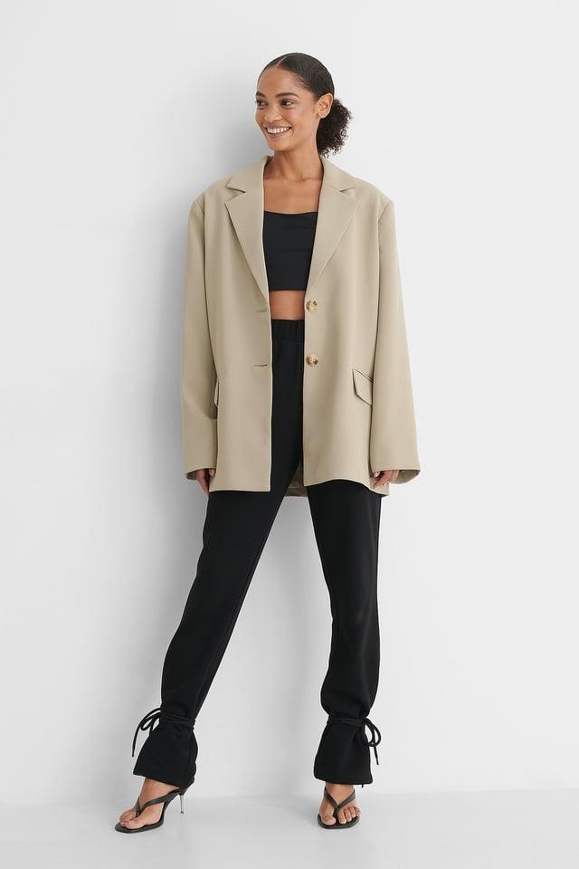 Boxy Blazer Outfit.