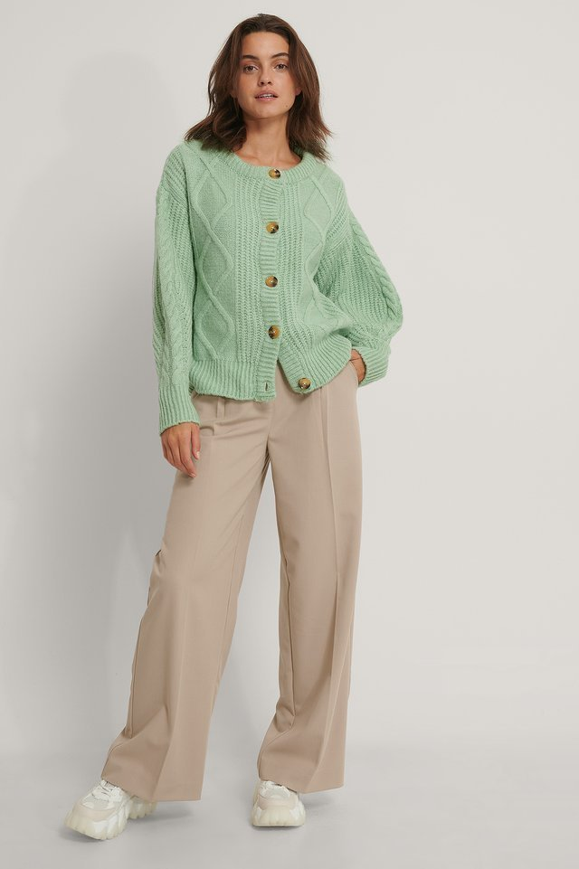 Carmen Cardigan Outfit.