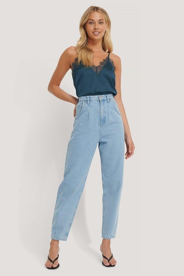Plain Lace Singlet Outfit.