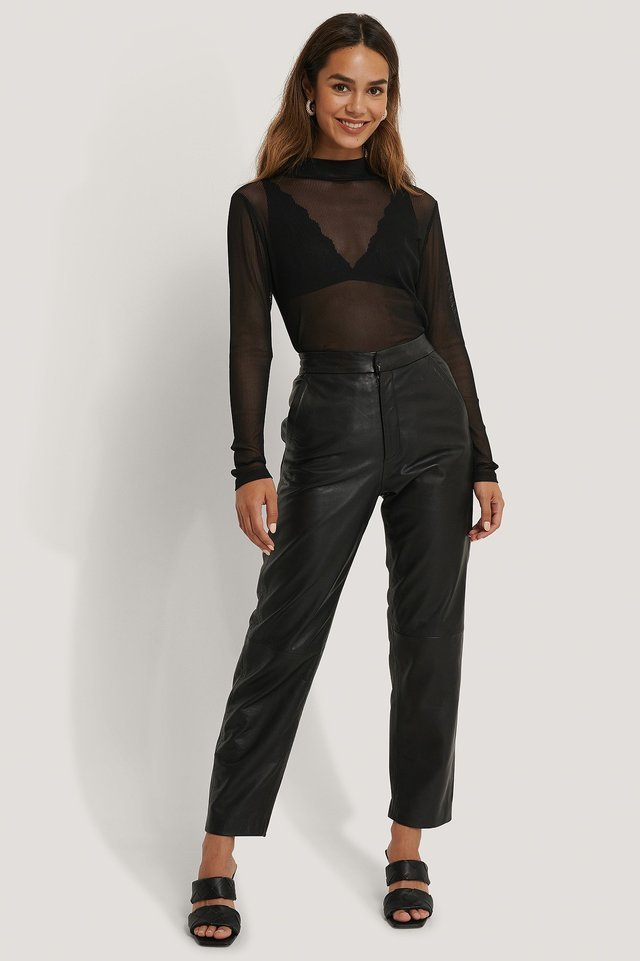 Sanna Mesh Top Outfit.