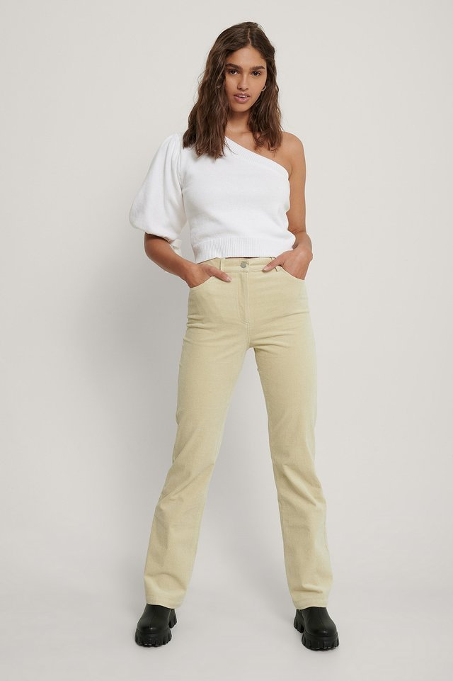 Cord Trousers Outfit.