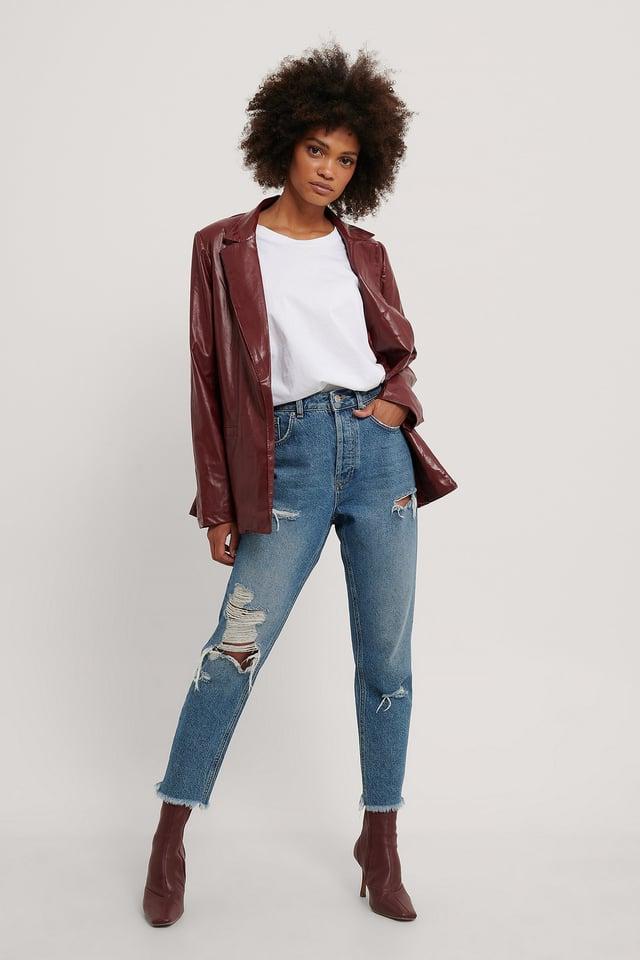 Milla Blazer Jacket Outfit.