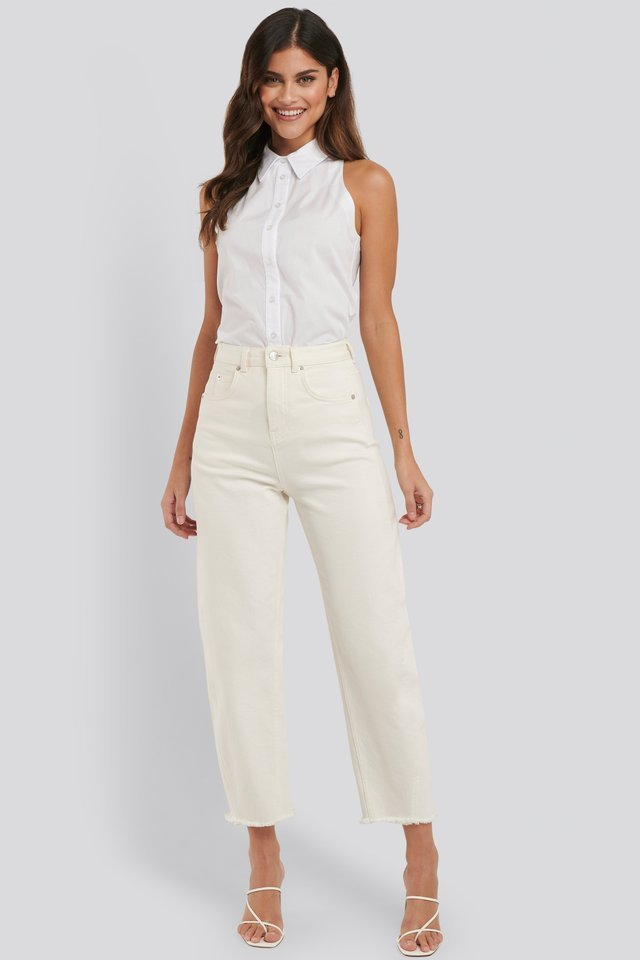 Sleeveless Shirt Outfit.