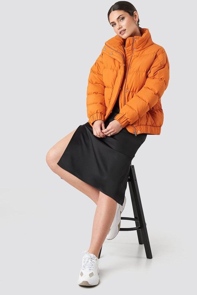 Amelia Jacket Orange.