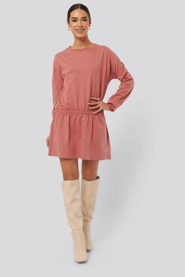Jersey Skirt Dress Outfit.