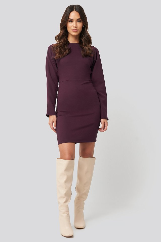 Mini Basic Dress Outfit.