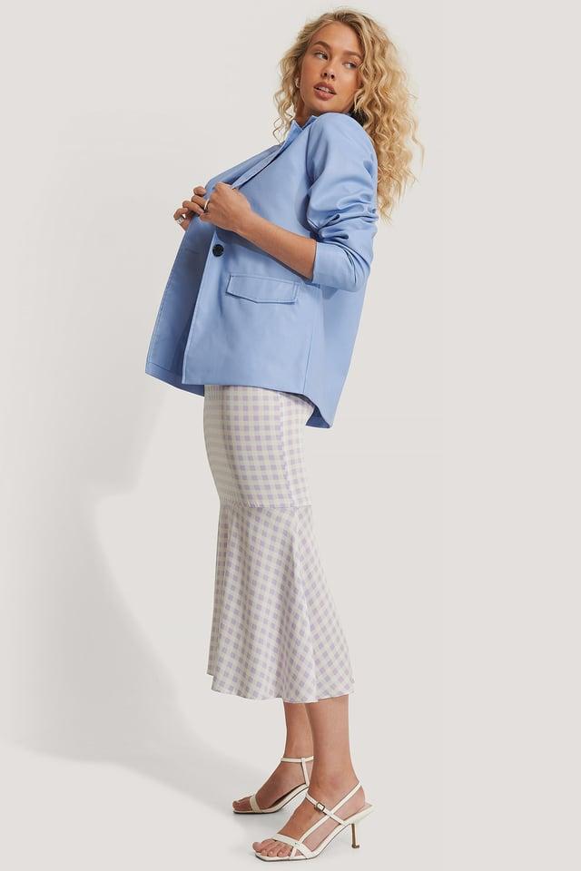 PU Blazer Outfit.