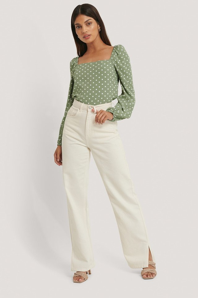Cleo Blouse Outfit.