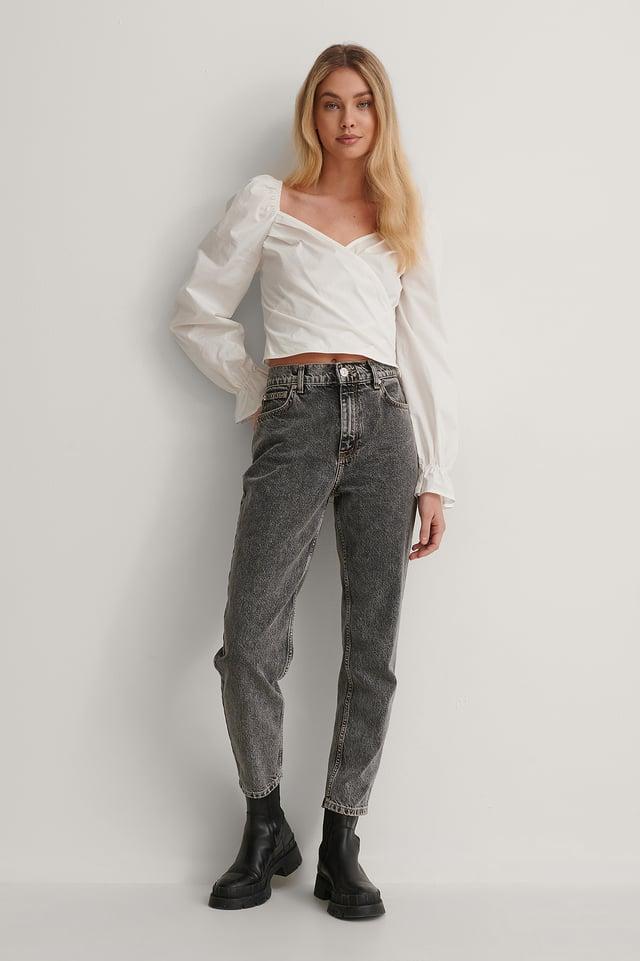 Cotton Blouse Outfit.