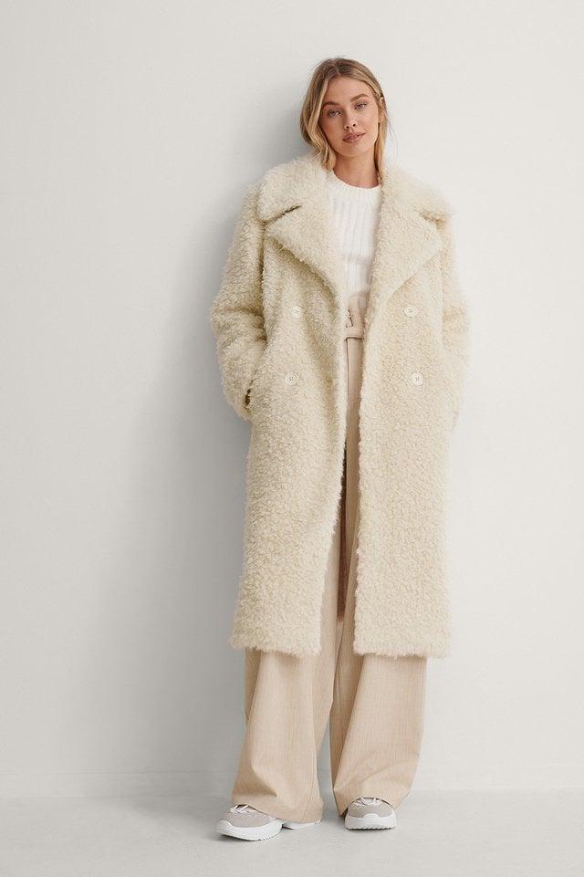 Big Collar Fluffy Coat
