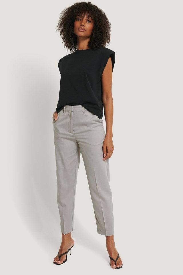 Classic Suit Pants Outfit.