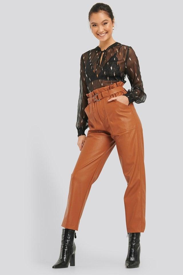 Vua LS Blouse Outfit.