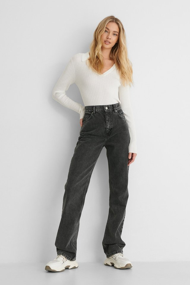 Urbanita Jeans Grey Outfit.