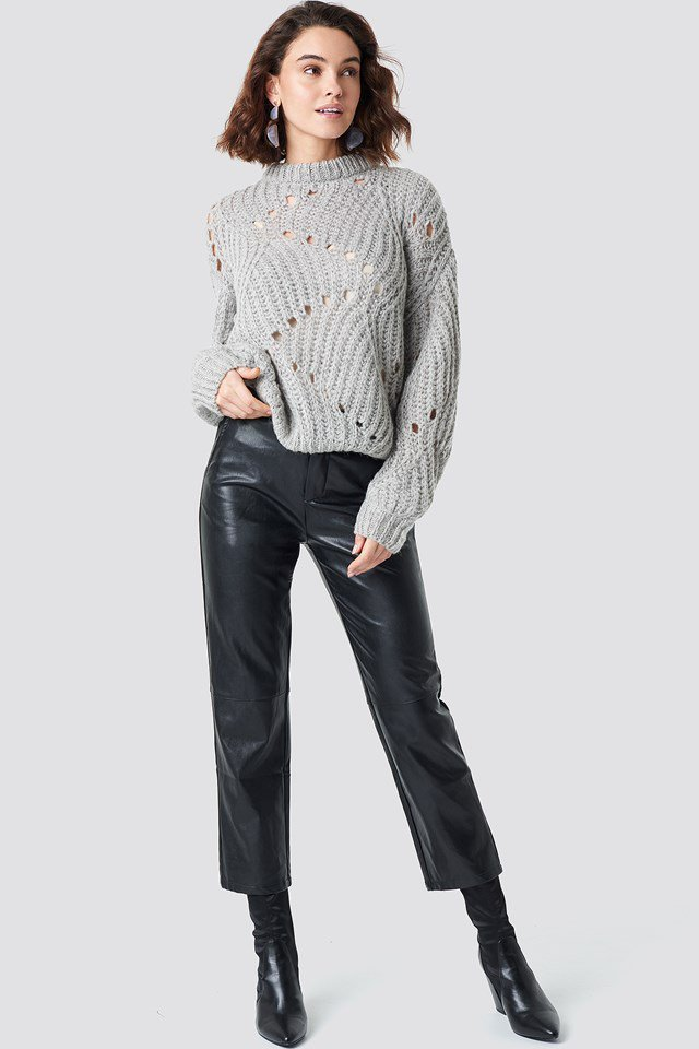 Relaxed Knitted Sweater