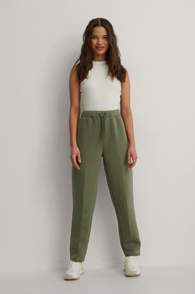Jogger Suit Pants Outfit.
