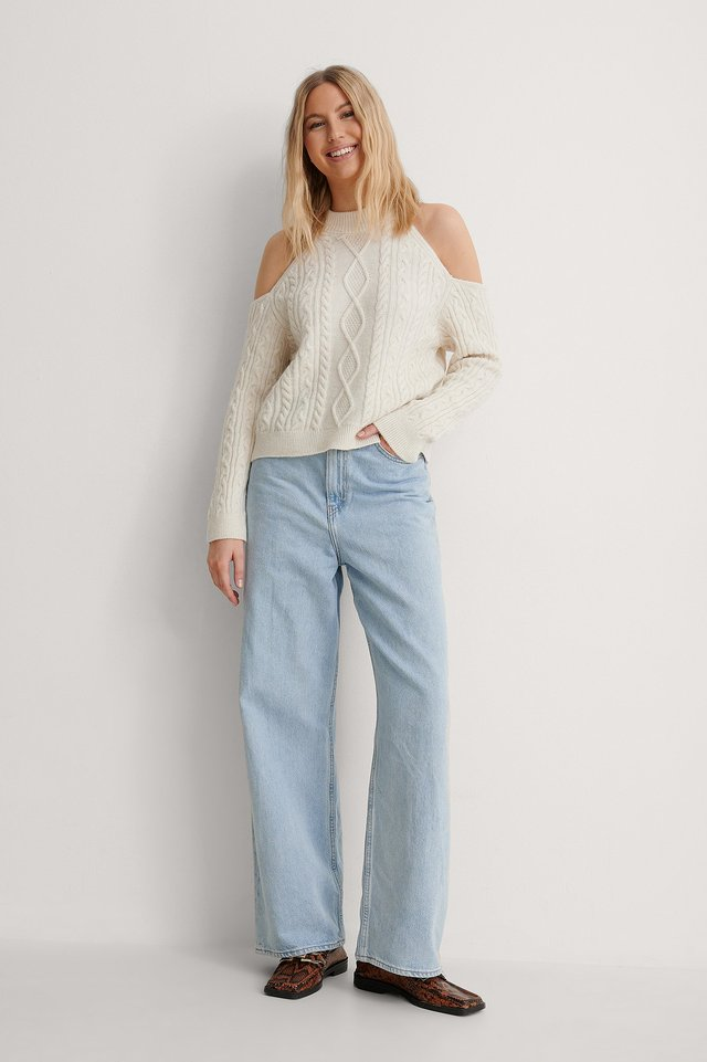 Vina Sweater Outfit.