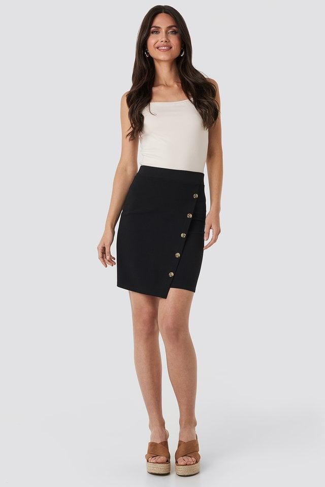 Black Ginu Skirt