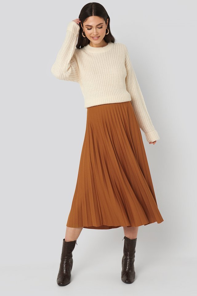 Brown Angela Skirt