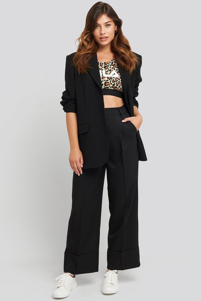 Josette Crop Top Outfit.