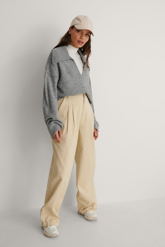 Soft Cargo Pants Outfit.