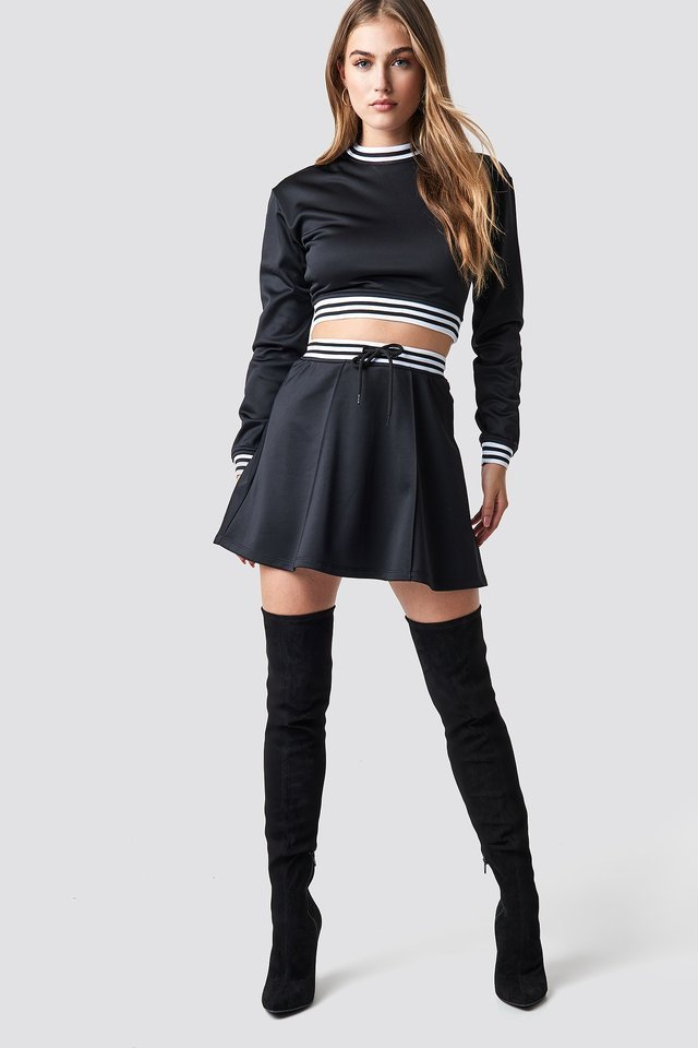 Track Skirt Outfit.