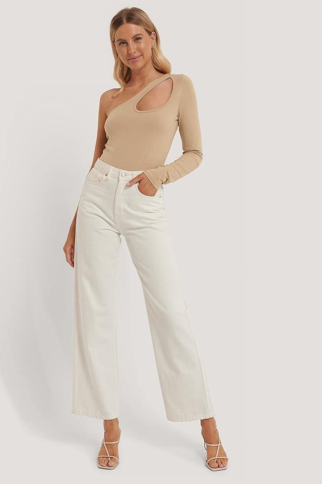 Cut Out Bodysuit Outfit.
