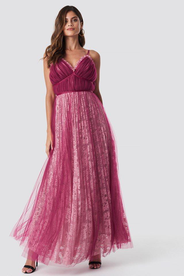 Romantic Lace Maxi Dress