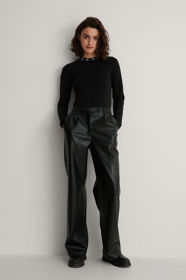 Calvin Klein Bodysuit Outfit.