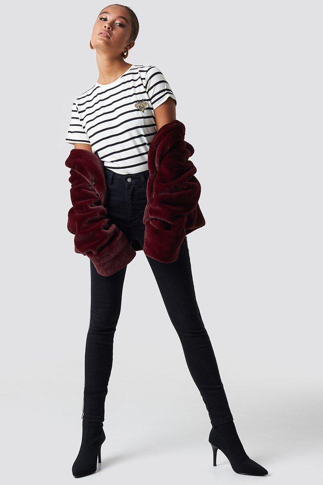 Trendy Faur Fur Outfit