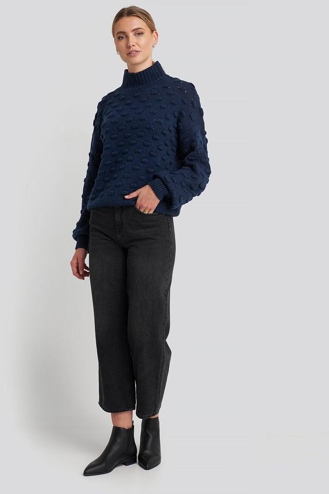 Liza Jacquard Knit Outfit.