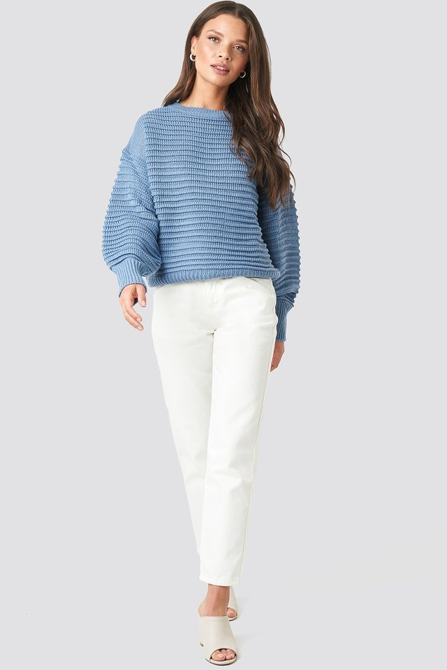 Liza Jaquard Knit Outfit.