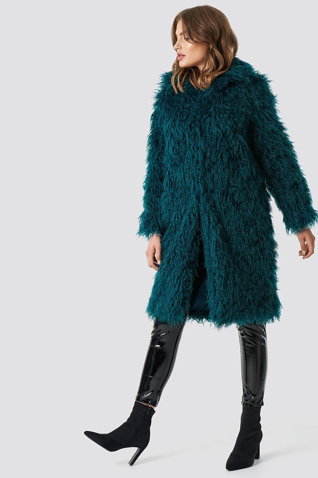 Fluffy Faux Fur Outfit