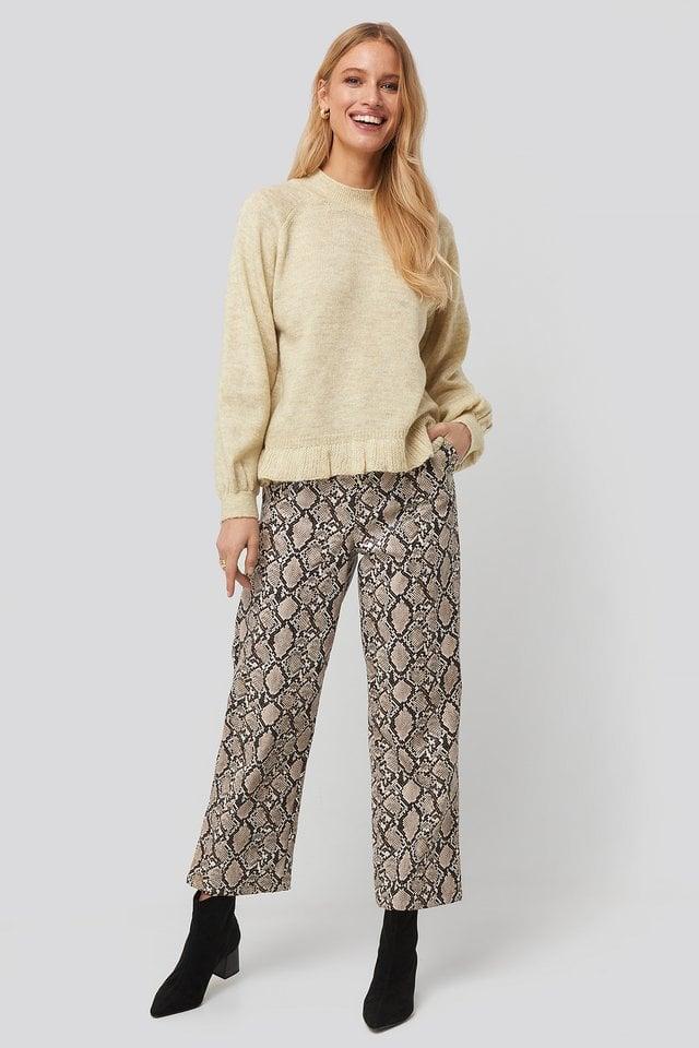 Mercucio Sweater Outift.