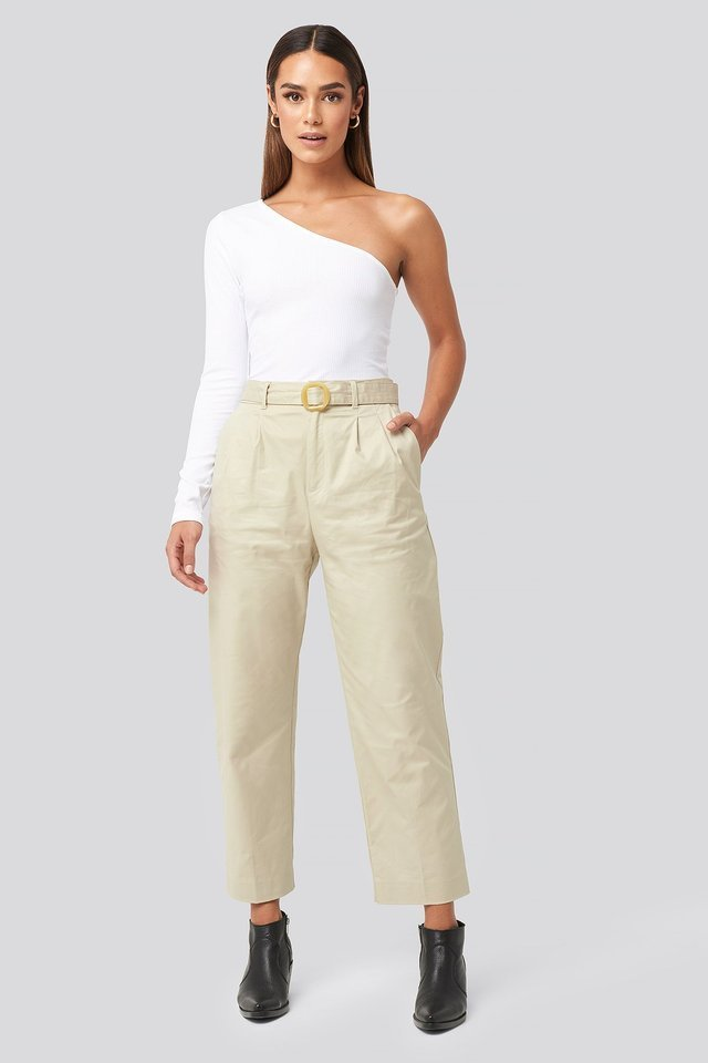 Light Gray Mire Trousers