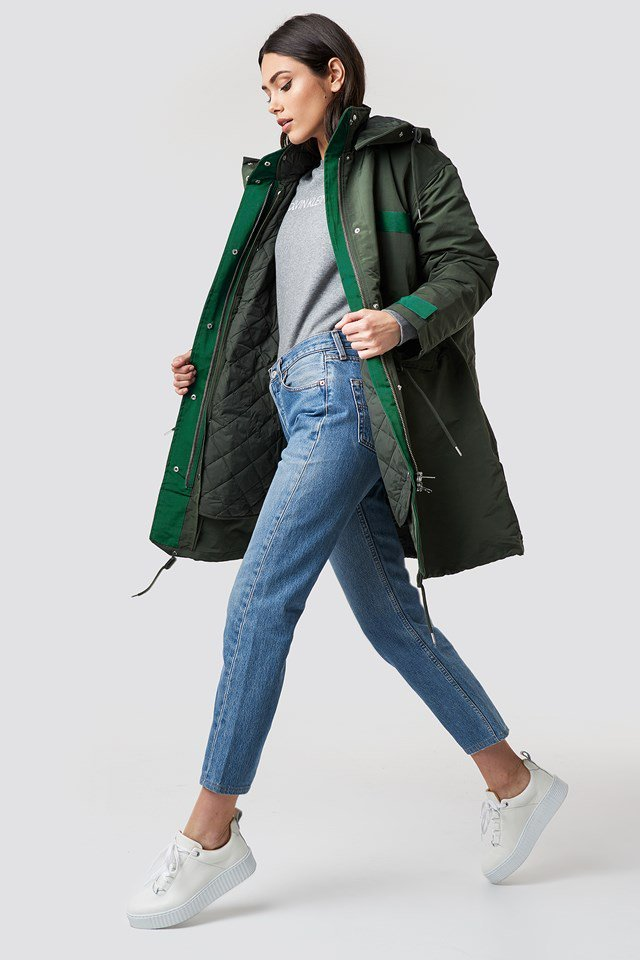Multifunctional Parka Look