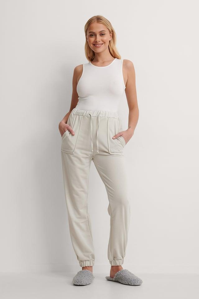 Carmen Jogger Pants Outfit.