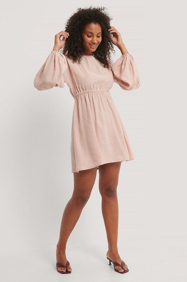Balloon Mini Dress Outfit.