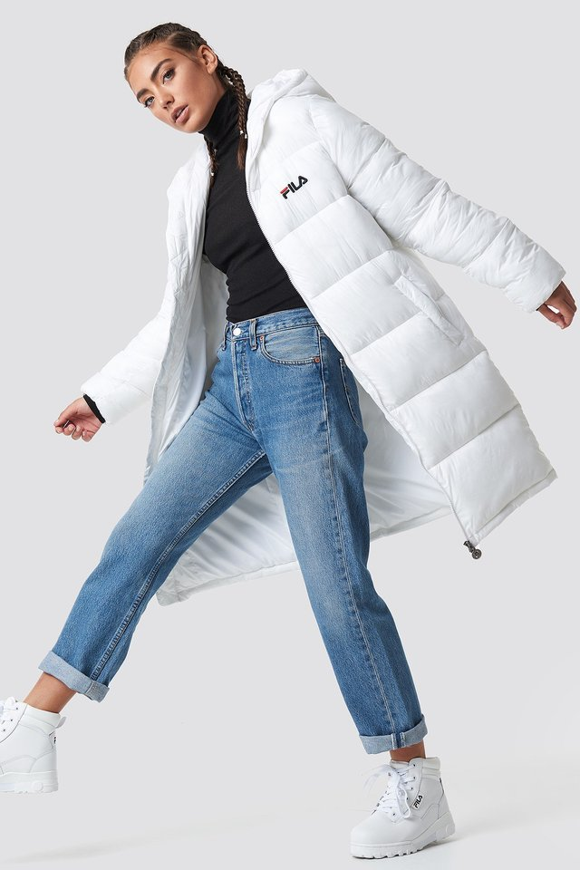 Sporty Puffy Jacket Outfit