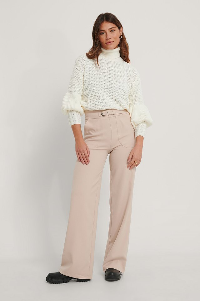 Carmen Pocket Trousers Outfit.