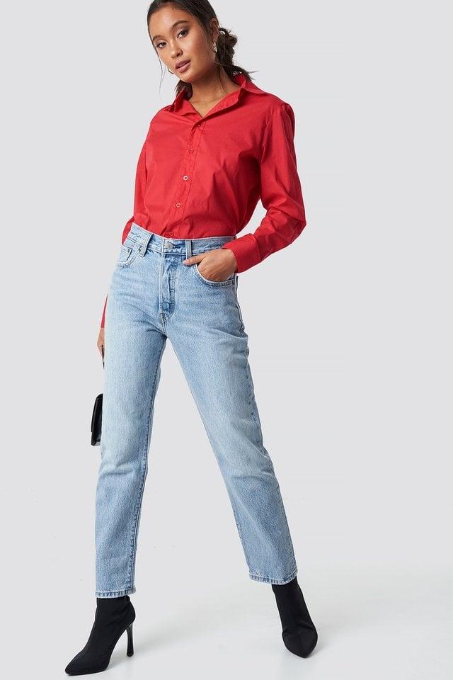 Basic Shirt Outfit.