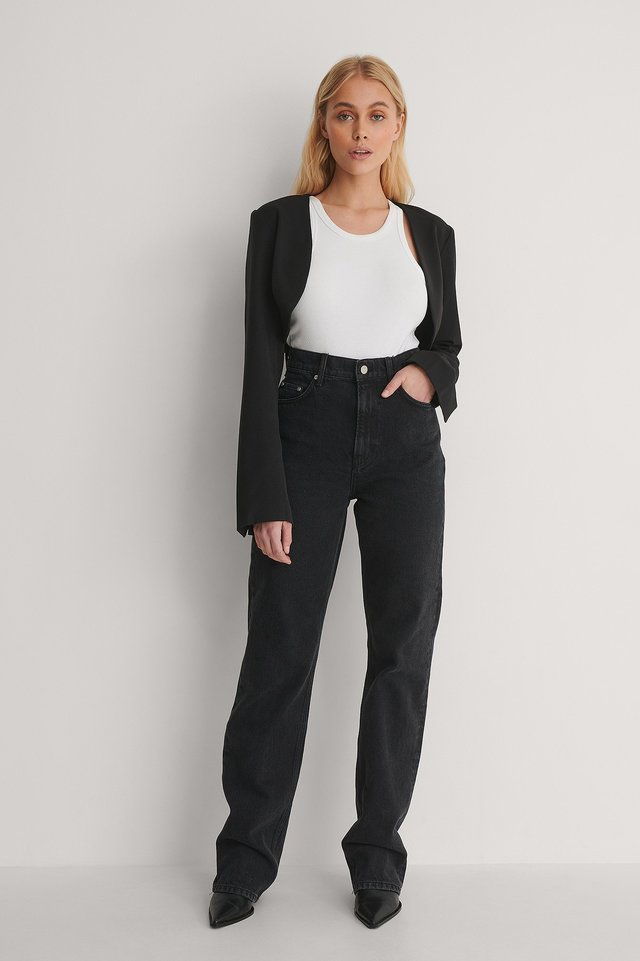Bolero Blazer Outfit.