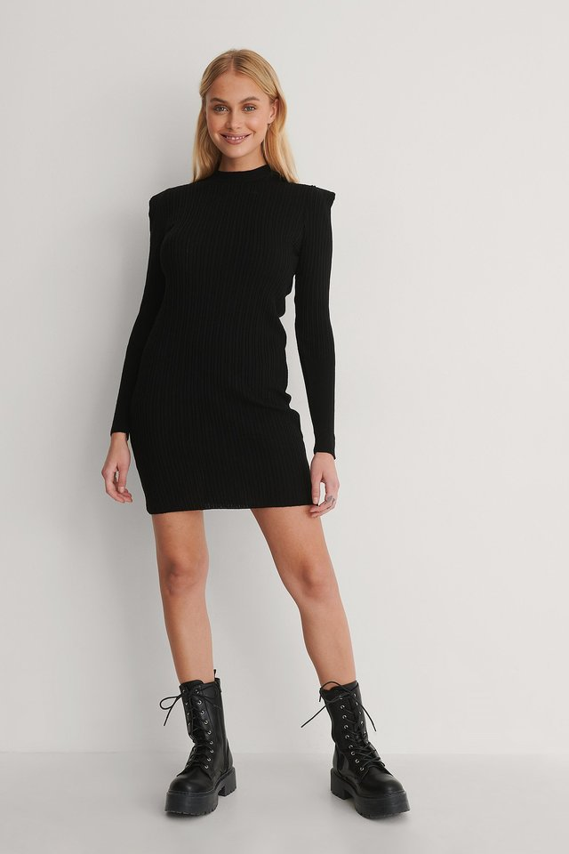 Black Mini-Jurk