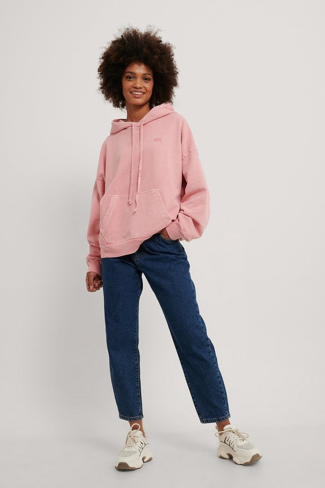 2020 Hoodie Blush Outfit.