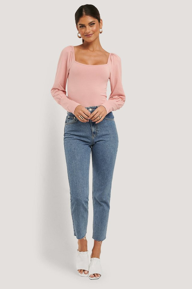Puff Long Sleeve Body Outfit.