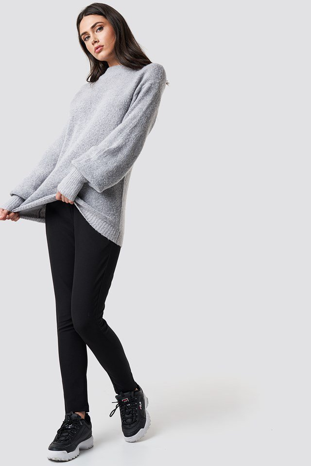 Sporty Knit Outfit