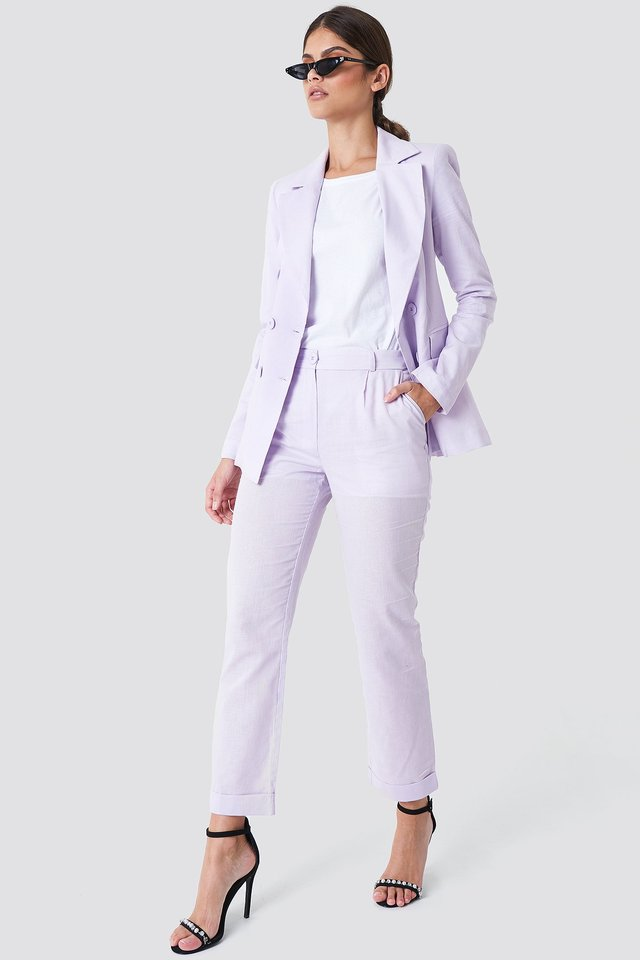 Purple Suit Outfit