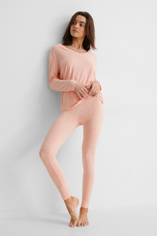 Loungewear Cotton Set Outfit.