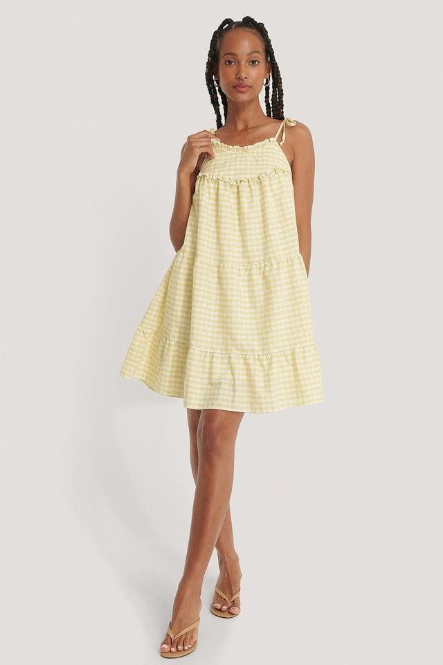 Clara Mini Dress Outfit.