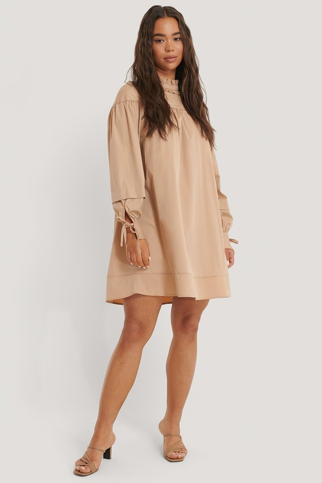 Oversized Mini Dress Outfit.