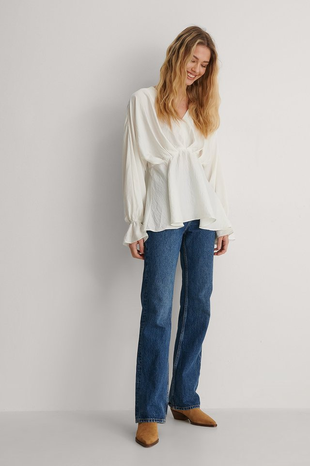 Flowy Blouse Outfit.